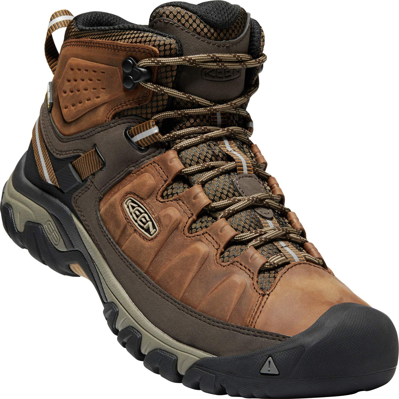 45f6a6b4c7f KEEN Men's Targhee iii mid Leather wp-m Hiking Boot