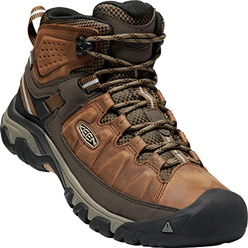 f9a5d3ae3b7 KEEN Men's Targhee iii mid Leather wp-m Hiking Boot