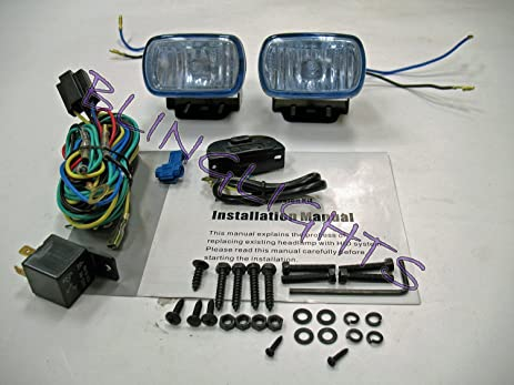81oWnAld7mL._SX463_ amazon com 2008 2010 chevy silverado fog lights lamps 1500 wt ls 2006 chevy silverado fog light wiring harness at edmiracle.co
