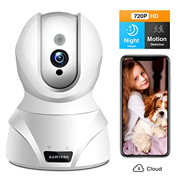 Test KAMTRON WLAN IP Kamera Babyphone