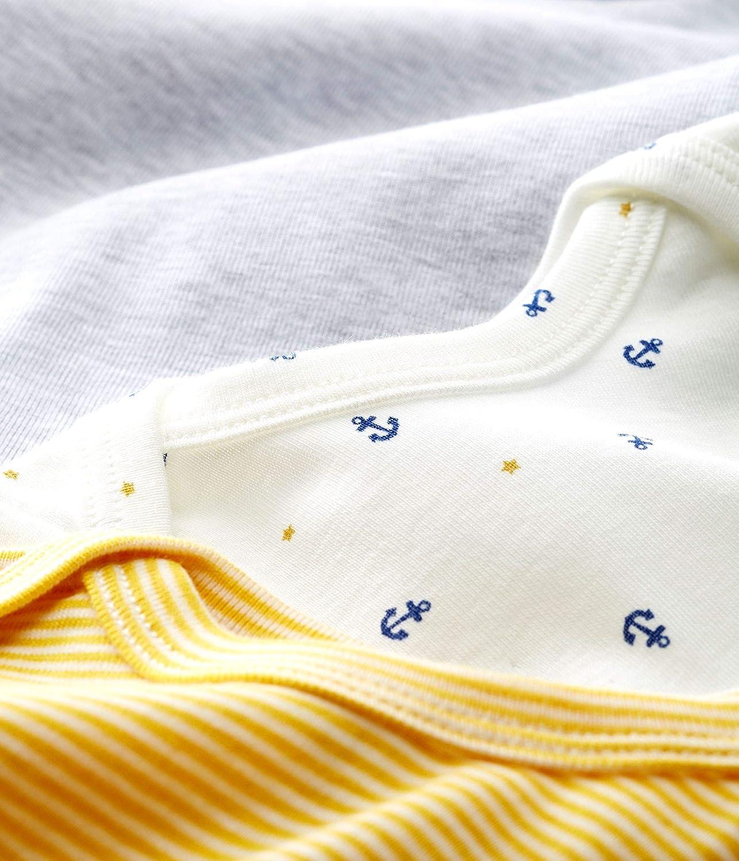 Pack de 3 Petit Bateau Body Unisex beb/é
