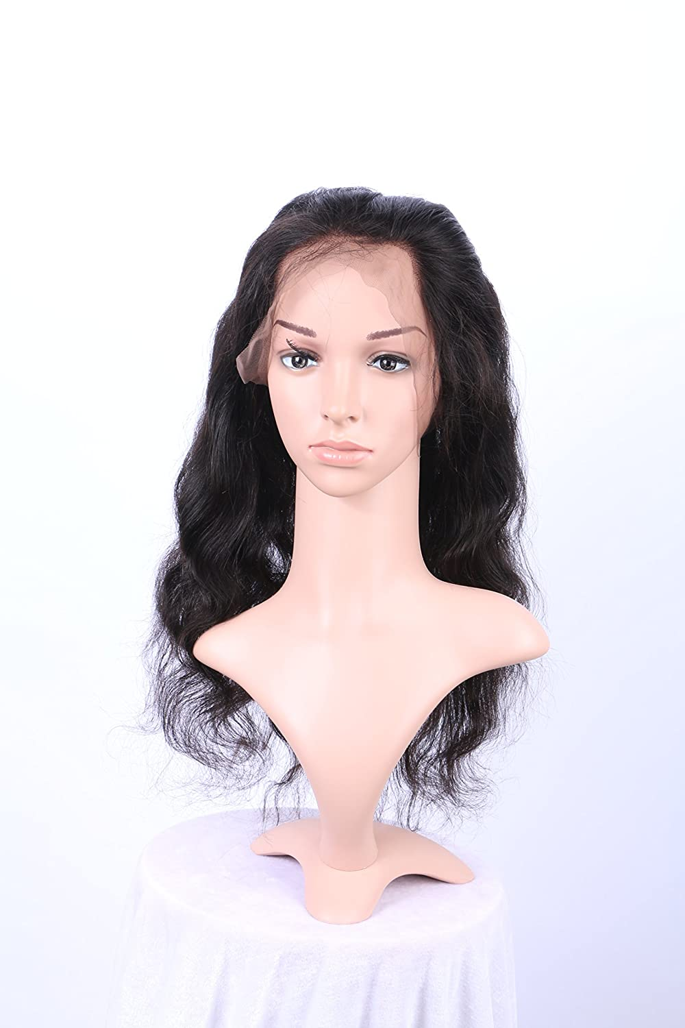 Amazon.com   360 Lace Frontal Closure Brazilian Virgin Body Wave Hair Weave  Lace Closure New and Natural Looking (12)   Beauty b32649693a