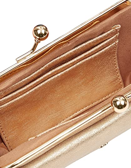 Accessorize - Cartera para mujer Mujer, (ROSE GOLD), talla única: Amazon.es: Zapatos y complementos