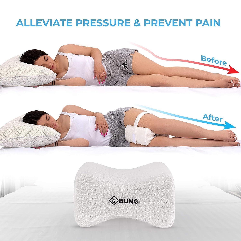 Amazon.com: Almohada de rodilla con correa ajustable y ...