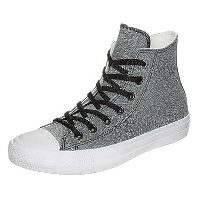 Converse CTAS Chuck Taylor All Star II HI Black/White/White | Fashion Sneakers
