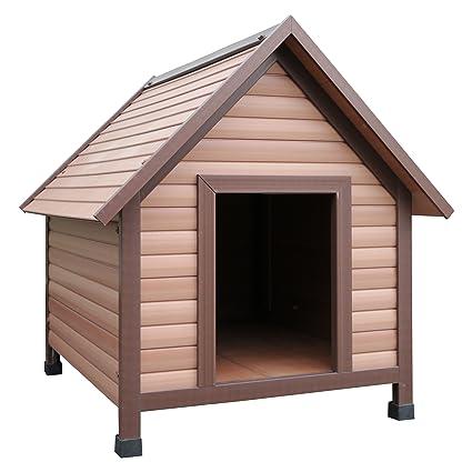 Rosewood - Caseta de Madera y plástico para Perro, tamaño Mediano
