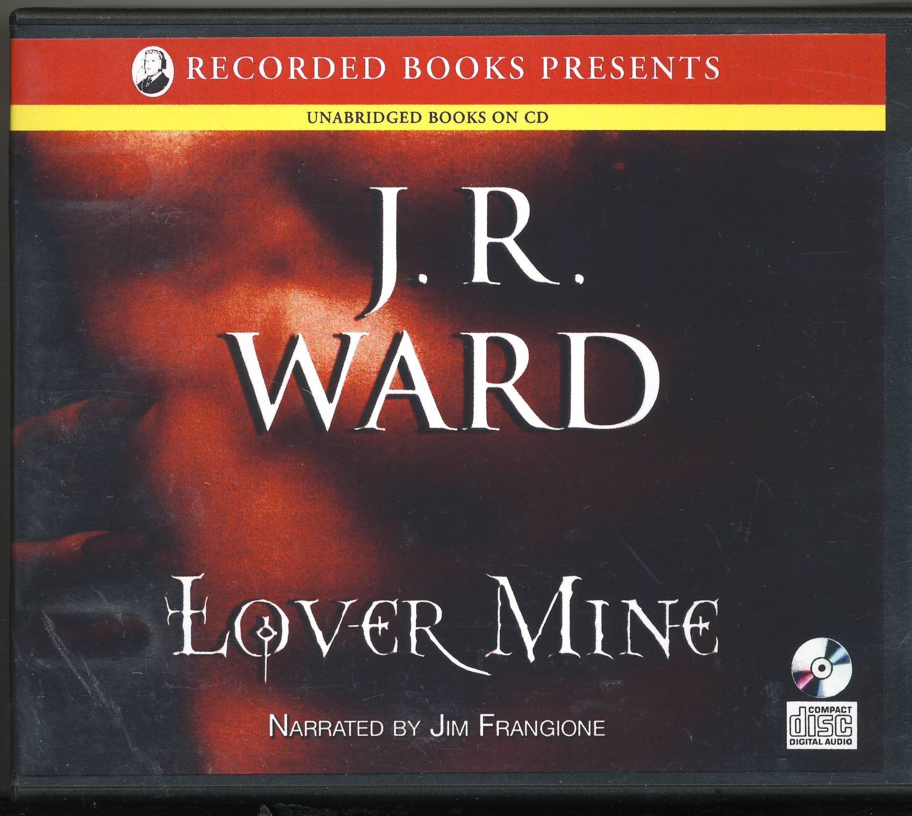 Lover Mine (black Dagger Brotherhood, Book 8): J R Ward, Jim Frangione:  9780143145783: Amazon: Books