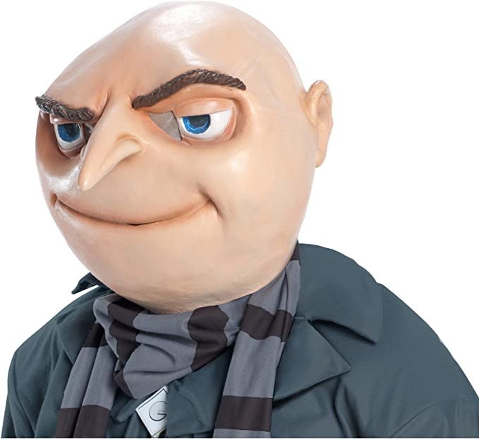 Gru Mask Costume Mask Clothing