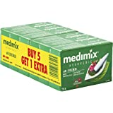 Medimix Ayurvedic Classic 18 Herbs Soap, 75g (5+1 Offer Pack)