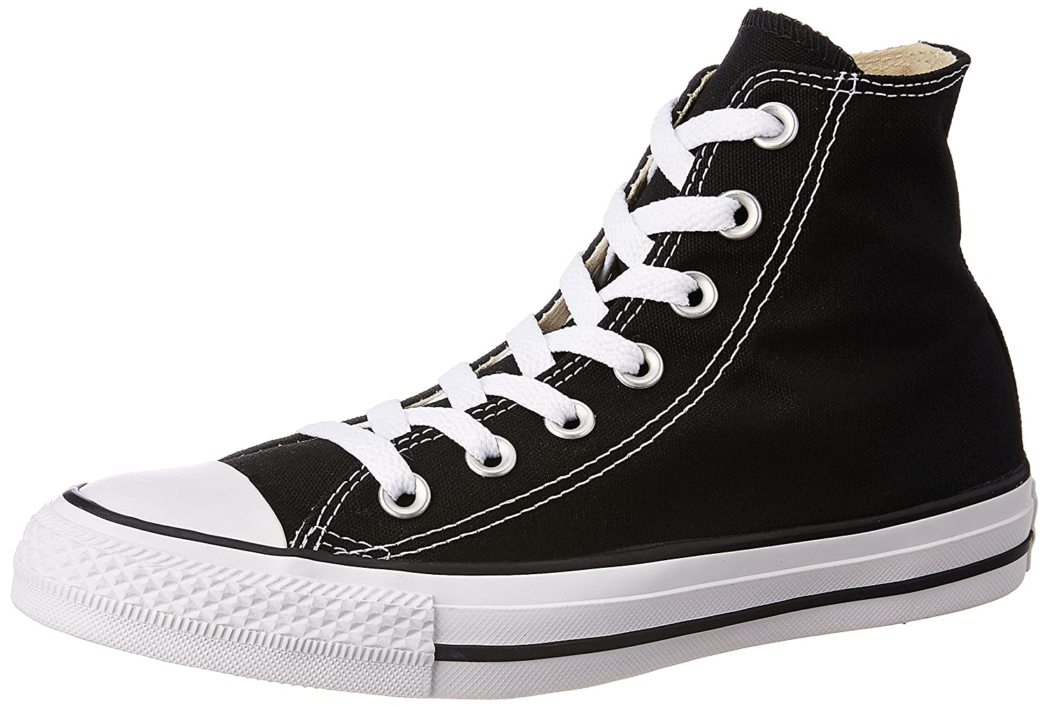 bc9d55b2f1ab Converse Unisex Black Sneakers - 11 UK India (45 EU)  Buy Online at Low  Prices in India - Amazon.in