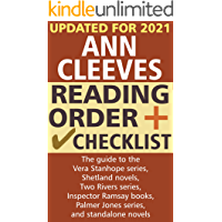 Ann Cleeves Reading Order and Checklist: The guide to the Vera Stanhope series, Shetland novels, Two Rivers series…