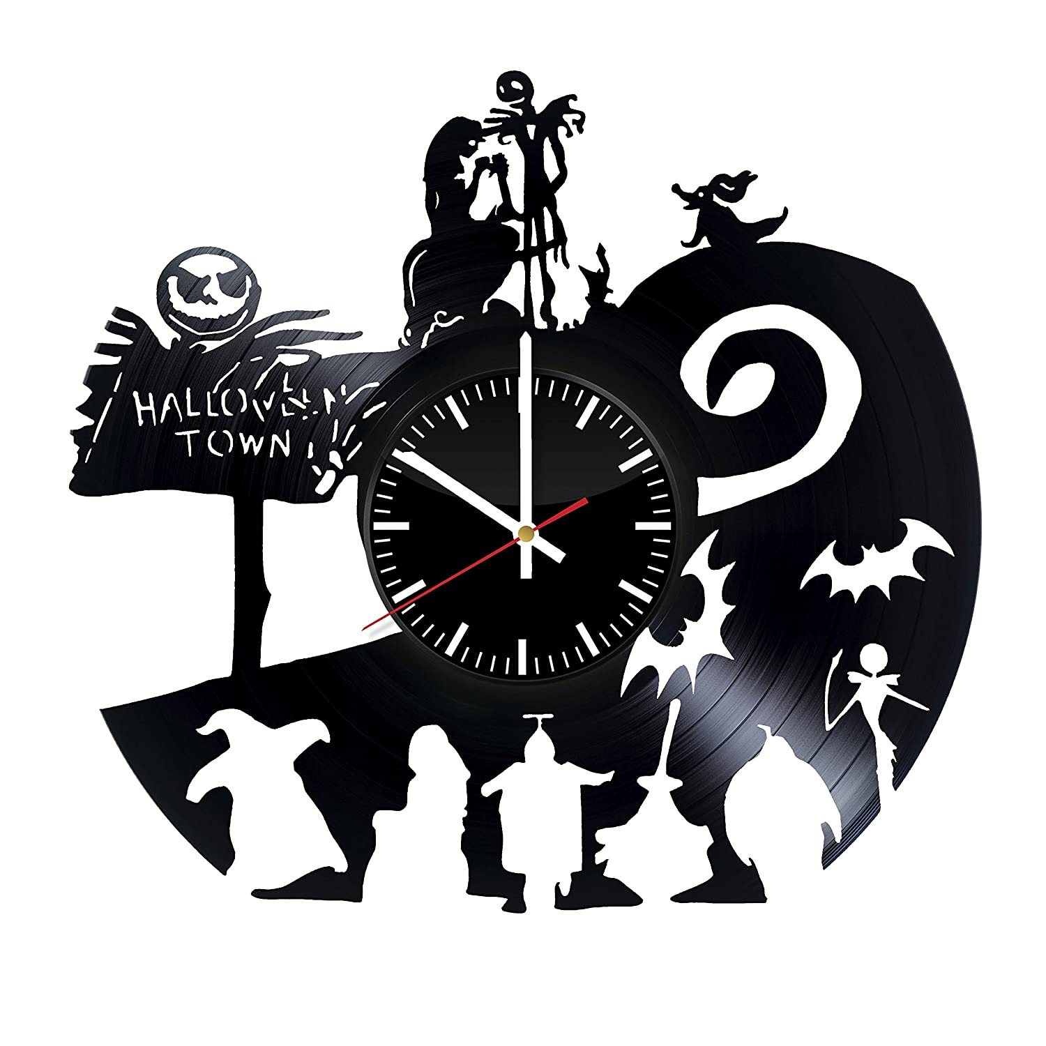 Nightmare Before Christmas Halloween Town Silhouette | www ...