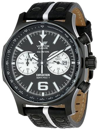 Vostok-Europe Mens 6S21/5954199 6S21 Miyota Movement Watch