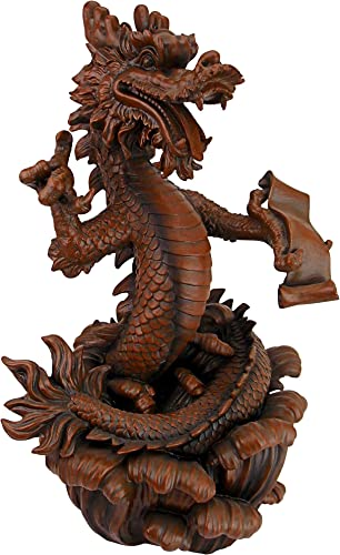 Design Toscano LY815053 Dragon King of The Four Seas Statue