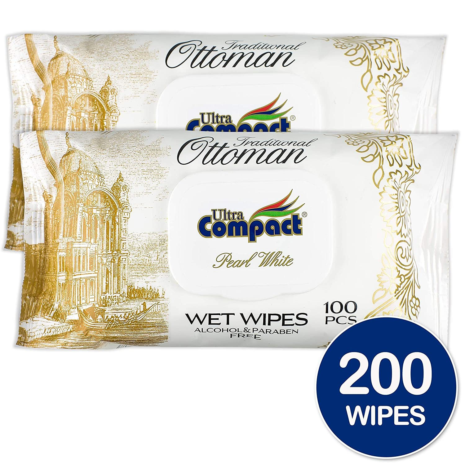 Amazon.com: Ultra Compact Luxurious Wet Wipes - Alcohol Free ...