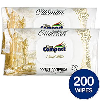 WET WIPES MedProfessional ALCOHOL /& PARABEN FREE INTIMATE ANTIBACTERIAL