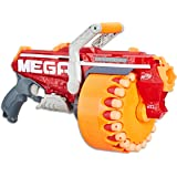 NERF MEGA - Megalodon Blaster inc 20 Official Mega Whistler Darts - Kids Toys & Outdoor Games - Ages 8+