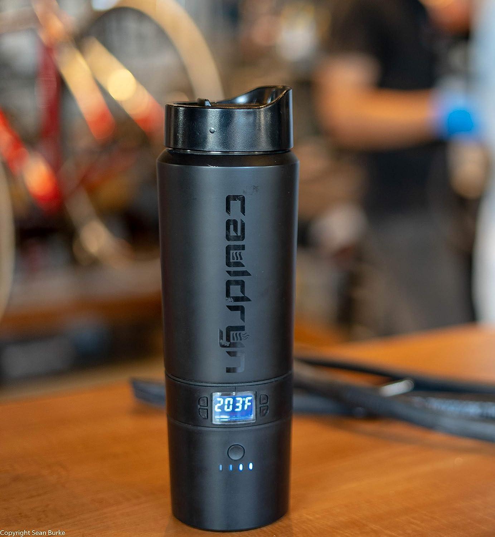 electric heated coffee mug for cops