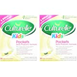 Culturelle Kids Packets Daily Probiotic Supplement vQosoI, 2Packs (30 Count)