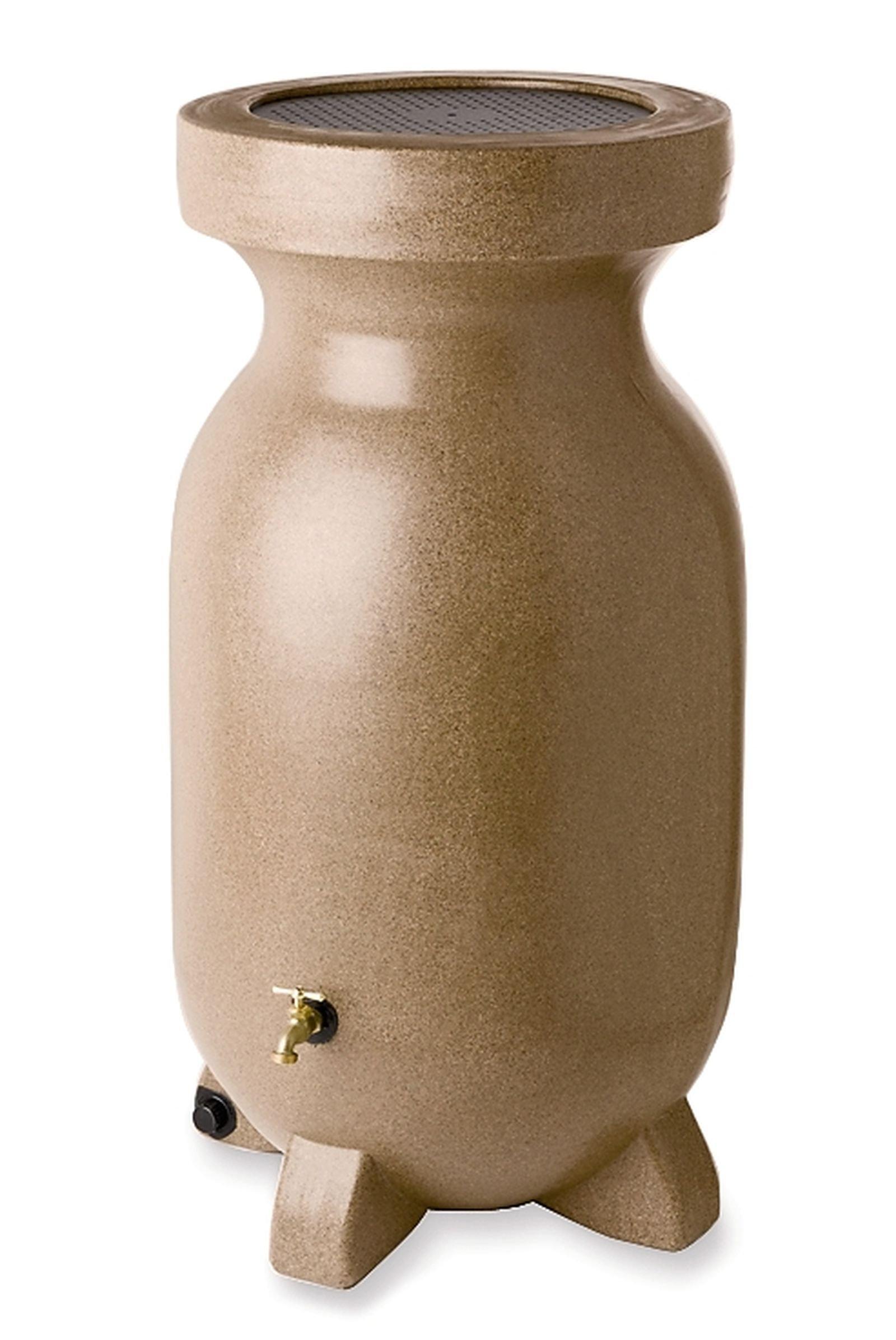 KYOTO Koolscape RBSS-75 75-Gallon Rain Barrel, Sandstone-Finish by KYOTO