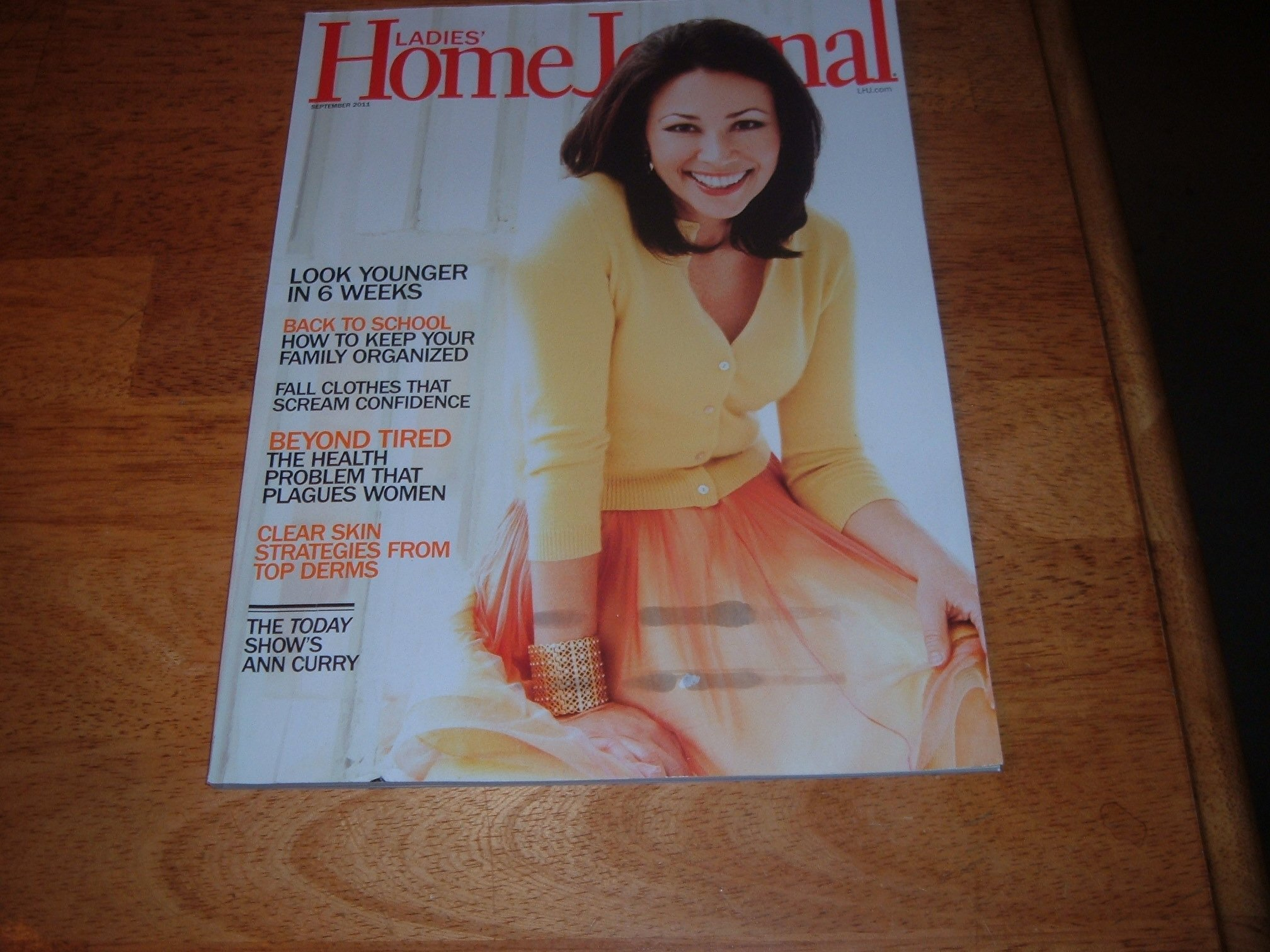 Read Online Ladies' Home Journal magazine, September 2011-Ann Curry of Today Show on cover. PDF