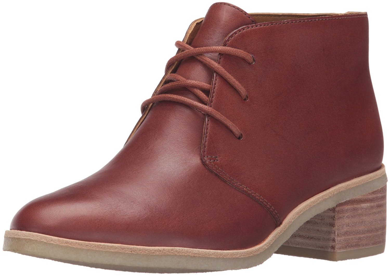 CLARKS Women's Phenia Carnaby Boot B01549B05K 7.5 B(M) US|Tan Leather