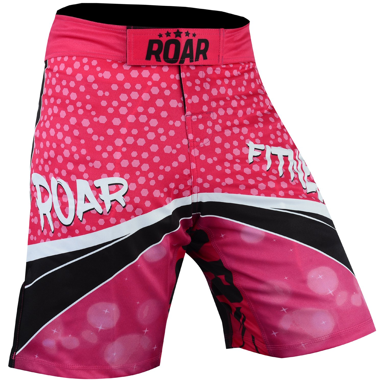 Roar No Gi Full Set Ladies Sports Bra BJJ Leggings MMA Shorts & Grappling Rash Guard Female Fight Wear (PF-Shorts, XLarge) by ROAR-INT