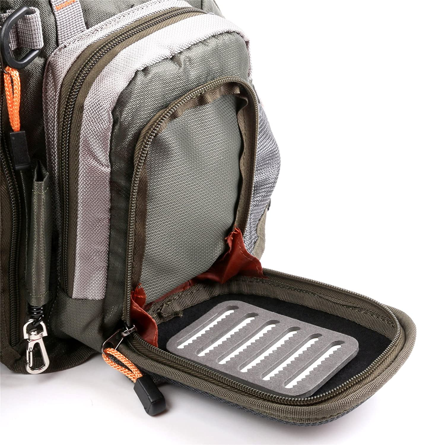 Maxcatch fly fishing backpack adjustable size mesh fishing for Fly fishing backpack
