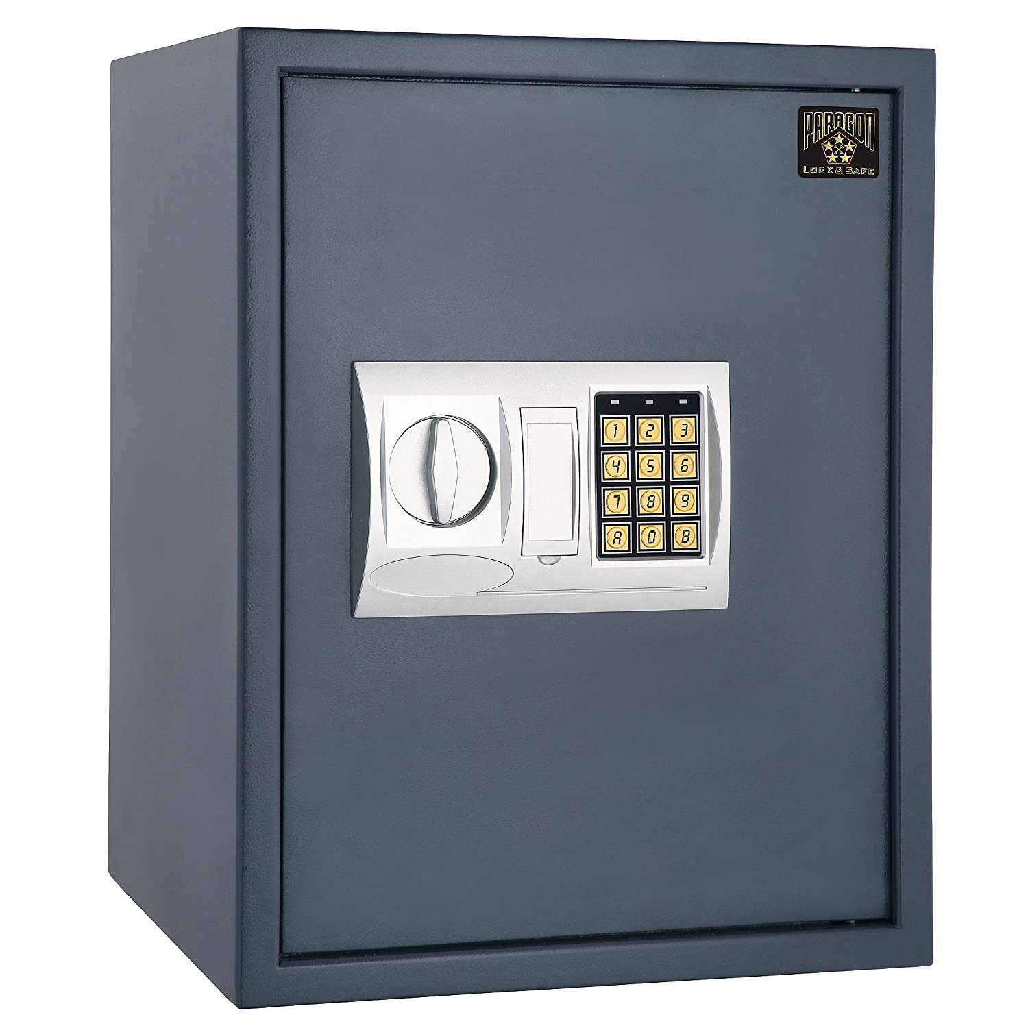 Image of 7805 Paragon Lock & Safe ParaGuard Premiere Electronic Digital Safe Home Security Home Improvements