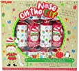 Toyland Pack of 6 - Pin The Nose On The Elf Game Christmas Crackers - Novelty Christmas Crackers