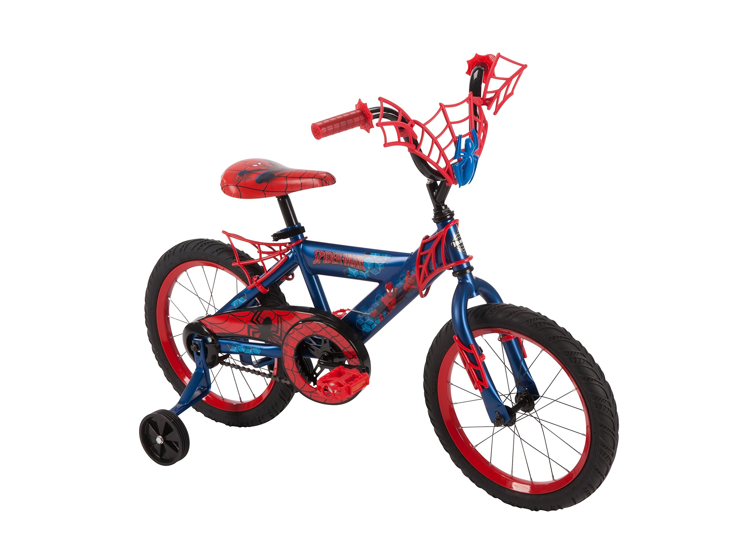 16'' Marvel Spider-Man Bike by Huffy, Ages 4-6, Height 42-48'' by Huffy (Image #1)