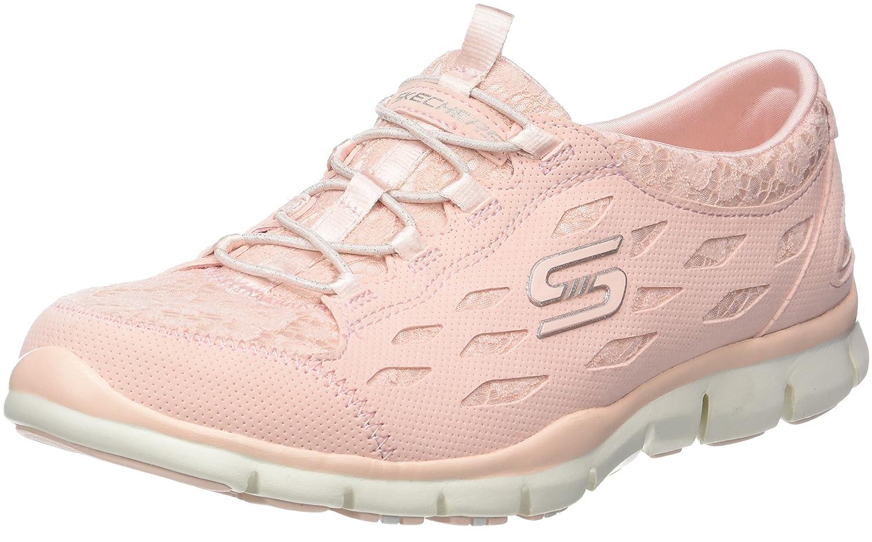 Skechers Women's Full Circle B077BWPN3V 8.5 B(M) US Pink (Light Pink)