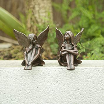 Secret Garden Magical Fairy Wishing Well Pixie House Garden Sculpture Ornament