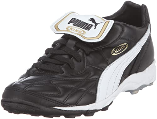 7c2471e1f3d2 Puma Men's King Allround Turf Football Shoes, Black (Black/White/Team Gold