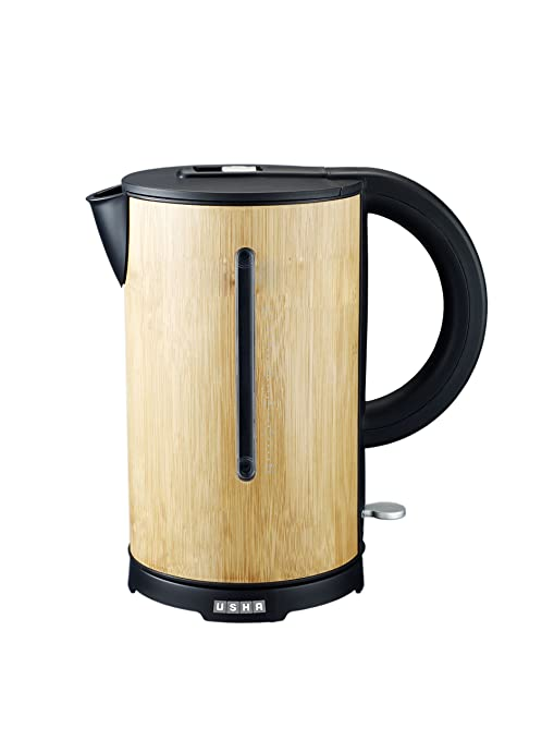 Usha 3217 B 1.7-Litre 2000-Watt Electric Kettle Kettles at amazon