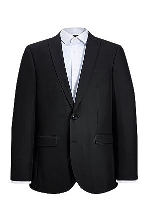 next Hombre Traje: Chaqueta Negro EU 81 Short (UK 32S ...