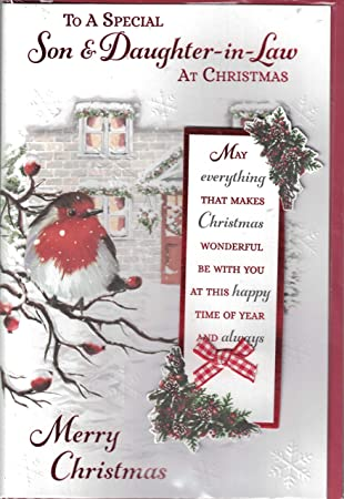 Son and daughter in law christmas card for a special son son and daughter in law christmas card for a special son daughter m4hsunfo