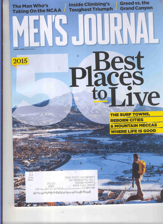 Download Men's Journal Magazine April 2015{best Places to Live Issue} pdf
