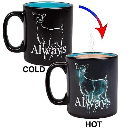 Always Harry Heat Coffee Activates Mug Oz Potter 20 With Doe Reveal Patronus Ceramic sxrChdtQ