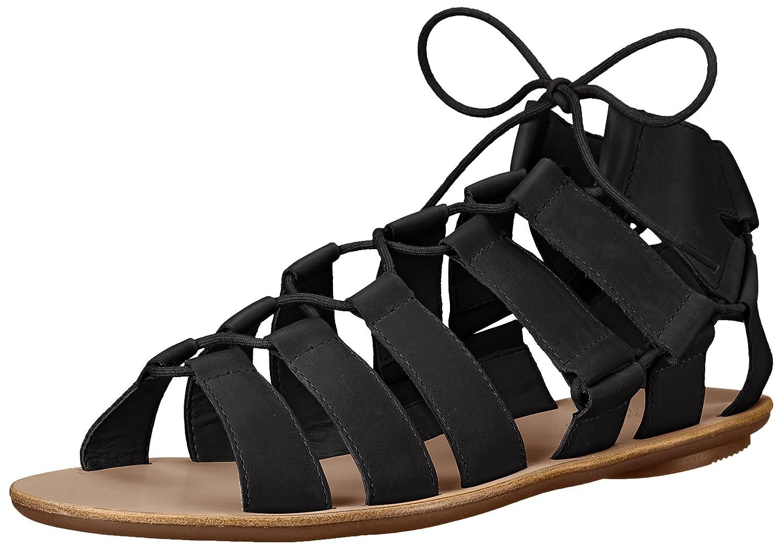 Loeffler Randall Women's Skye-VAC Gladiator Sandal B01APN036W 6 B(M) US|Black