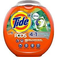 Tide PODS Laundry Detergent Liquid Pacs, Botanical Rain Scent