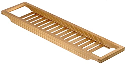 Luxury Bamboo Bath Bridge: Amazon.co.uk: Kitchen & Home