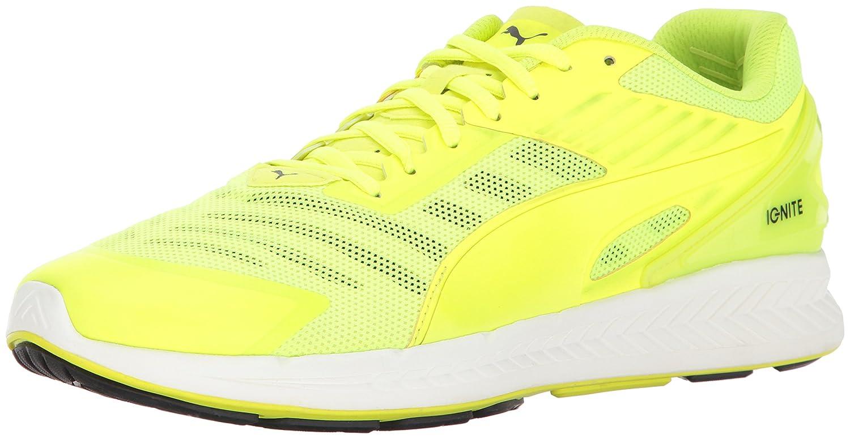 Puma Ignite V2 zapatillas de running 11.5 D(M) US Quarry/Safety Yellow