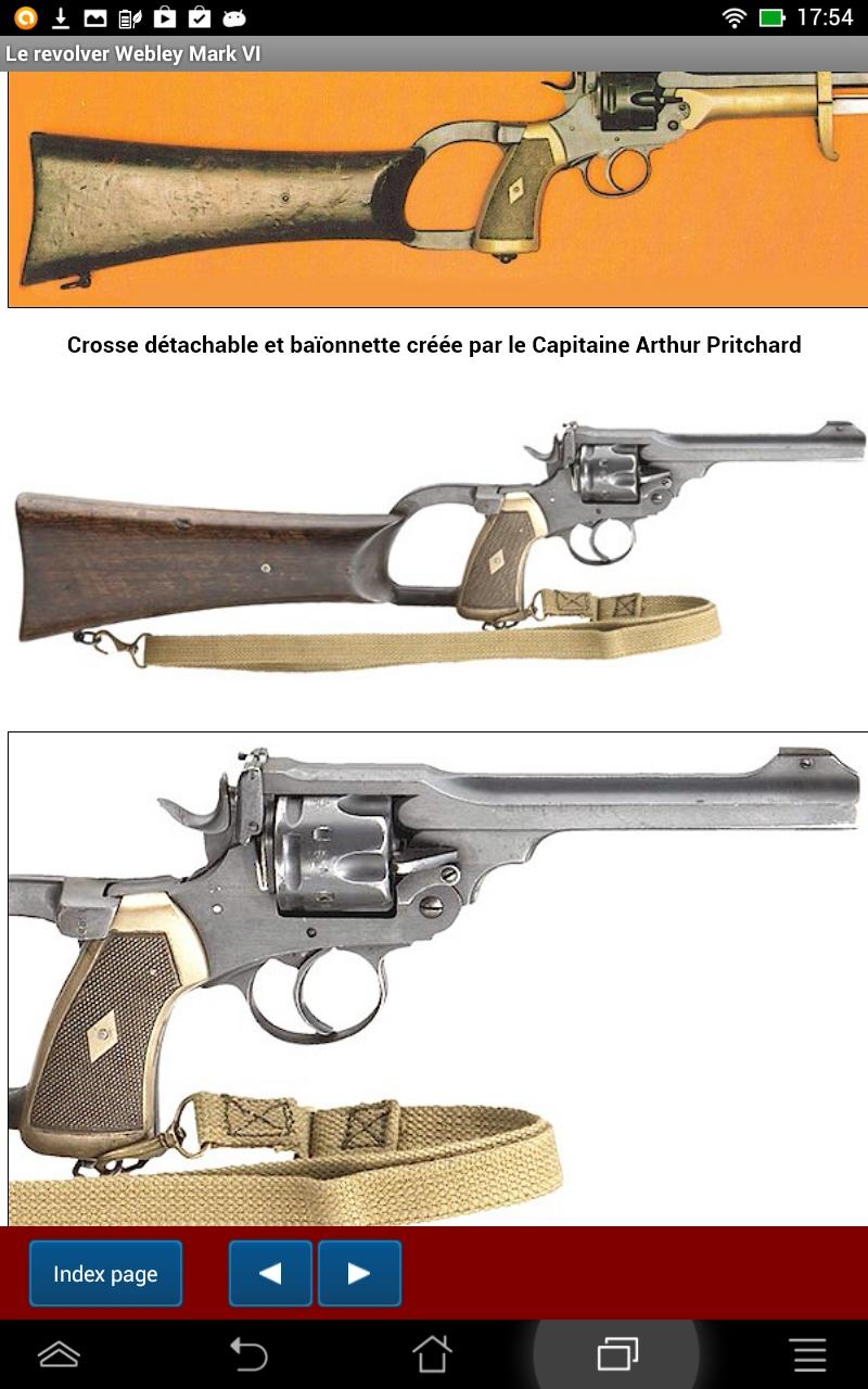 Les revolvers Webley de service en calibre .455: Amazon.es