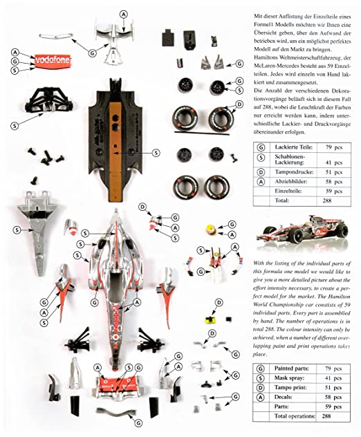 Buy Minichamps 1:18 Scale McLaren MP4-22 Lewis Hamilton 1st