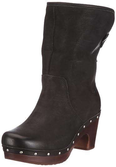 9b3e0be3108 UGG Australia Women's W's Lynnea Boots Black Size: 7 UK: Amazon.co ...
