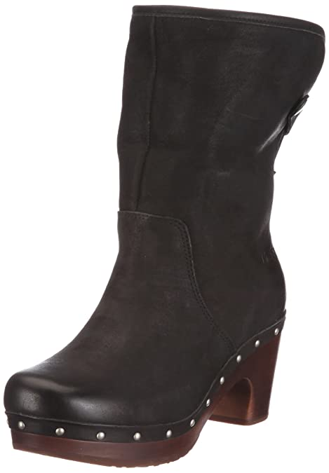 dc3681a4945 UGG Australia Women's Lynnea #1958 Black Leather Size 9 Medium ...