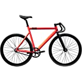 State Bicycle 6061 Black Label Fixed Gear Bike - Roma Red, 55 cm