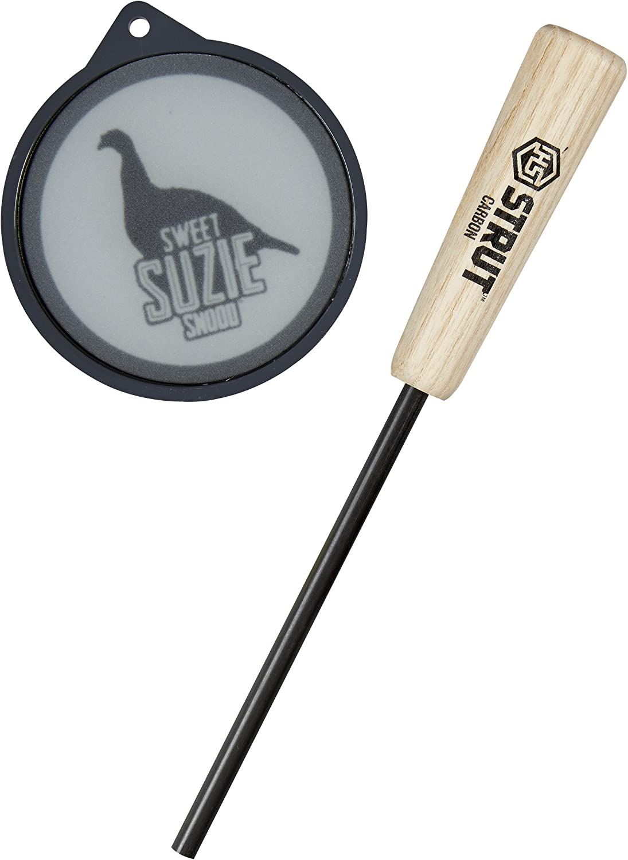 Hunters Specialties H.S. Struth.S. Strut Sweet Suzie Snood Glass Pan Turkey Call