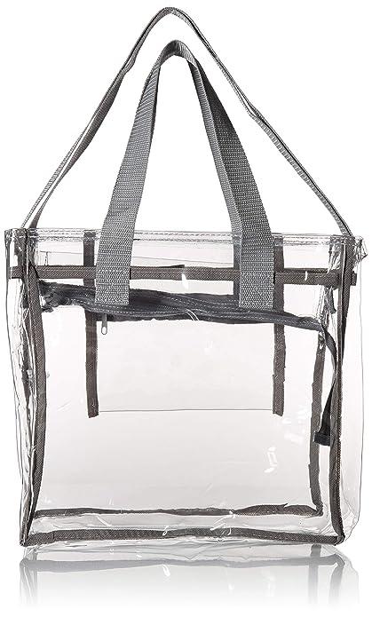 Amazon.com: La más grande bolsa transparente con asas ...